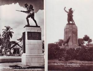 Dar es Salaam (left) and Dakar (right)