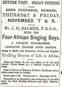 Newark on Trent, November 1907