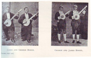 The Afro-Canadian Bohee Brothers recorded in London in 1890
