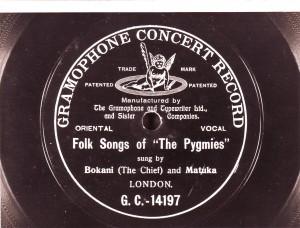 Bokani and Matuka on record 1905