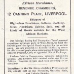 The firm's activities advertised in 1910