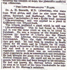 The West African's testimony, The Times, 18 July 1914 page 3.