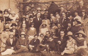 Gwendolen Coleridge-Taylor's wedding, Croydon, 1924