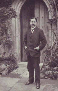 Sir Harry Johnston at Poling, where he was buried in 1927