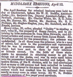 The Times, 13 April 1870