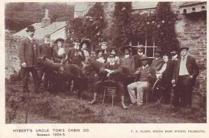 Josh Hyatt's troupe in western England, 1904