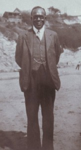 Dr Brown - a portrait photo that his son Leslie kept by his bed