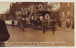October 1915 funeral Zeppelin victims