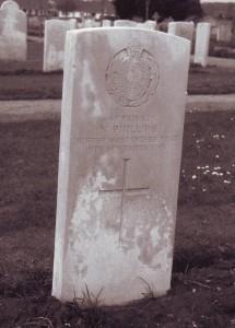 N Phillips died 9 November 1915