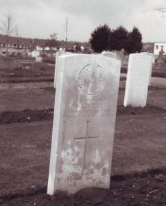 Nelson Fevrier's grave